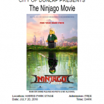 Movies In The Park – The Ninjago Movie